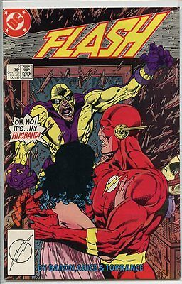 Flash 1987 series # 5 very fine comic book