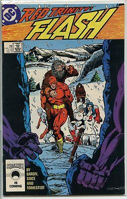 Flash 1987 series # 7 very fine comic book