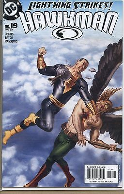 Hawkman 2002 series # 19 near mint comic book