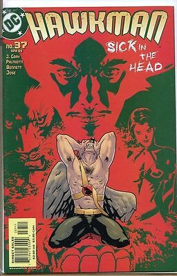Hawkman 2002 series # 37 near mint comic book