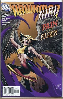 Hawkman 2002 series # 42 near mint comic book