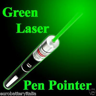 Puntatore Laser Astronomico 1mW  a luce verde penna Green laser pointer LEGALE
