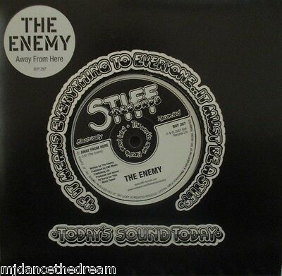 """THE ENEMY - Away From Here - 7"""" Single"""