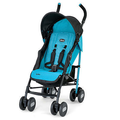 Chicco Bright and Stylish Lightweight Echo Stroller, Turquoise | CHI-407931441