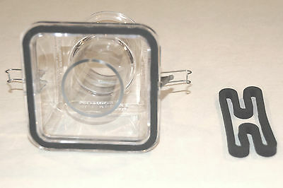 2 New Gasket Seals for Vita Mix Action Dome - fits models 3600 & 4000 Free Ship