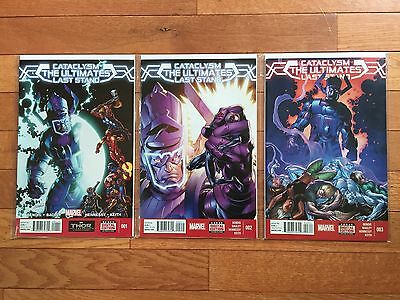 Marvel Comics CATACLYSM: ULTIMATES LAST STAND #1, 2, 3 NM 2014