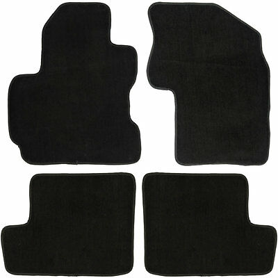 UAA Custom-fit Black Carpet Suv Floor Mats Set for Toyota Rav4 2001-2005