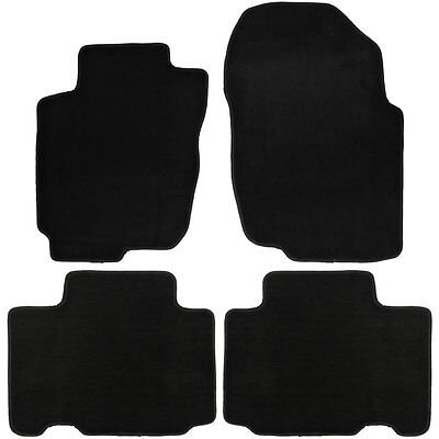 UAA Custom-fit Black Carpet Suv Floor Mats Set for Toyota Rav4 2013-2016