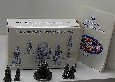 Americana Collection Liberty Falls - Pewter Figurines AH110