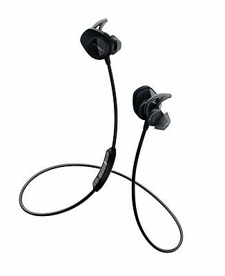 Bose SoundSport WIRELESS headphones Bluetooth NFC - Black **INCLUDES free CASE**