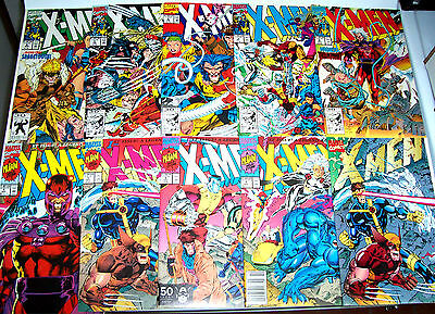 X-MEN #1-22 Annual 1 Wolverine! all 5 #1 covers! + #1 certicficate! (NM) Jim Lee