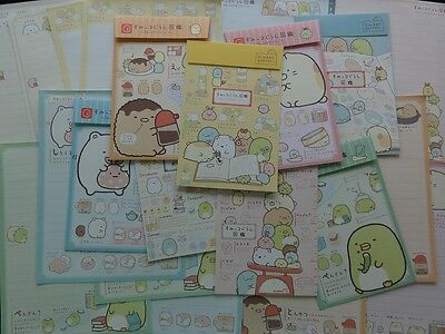 2016 Sumikko Gurashi Letter Set writing paper envelope kawaii san-x stationery