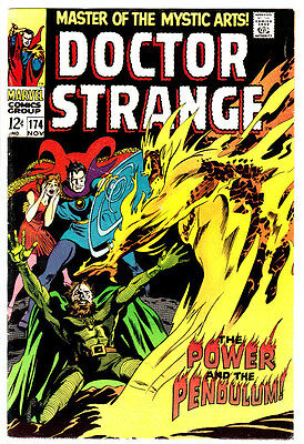 DOCTOR STRANGE #174 (VF) 1st Appearance of Satannish! Classic Silver-Age! 1968