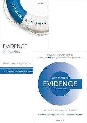 Evidence Revision Pack 2015 Law revision and study guide (Pack) (Concentrate) (.