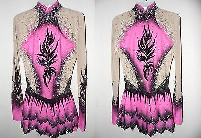 Acro/Rhythmic Gymnastics leotard/Ice skating dress/Tap/Dance costume/Twirling