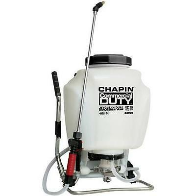 Chapin 63900 Commercial Duty Jet Clean Dual Displacement Pump 4 Gallon Sprayer