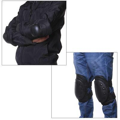 4pcs Airsoft Tactical Knee Elbow Wrist Protective Protection Pads Set Outdoor