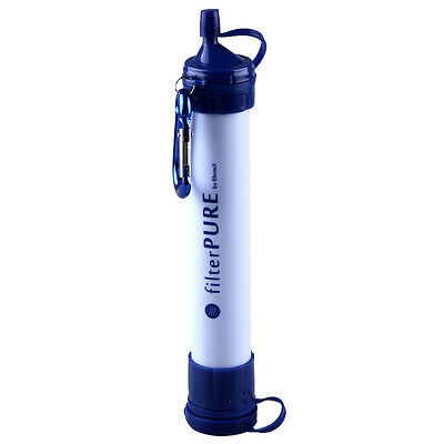 Outdoor Sport Travel Fans Tools Emergency Survival Water Straw Personal Filter
