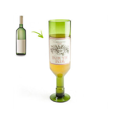 Ideal Novelty Gift Wine Drinker Lover All Mine Wine Bottle Glass Designed Bar