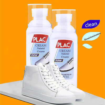 75ml Portable Refreshed White Shoe Cleaner Cleaning Tool Kit Magic