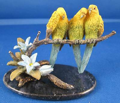 Country Artists Tropical Paradise - Budgerigars