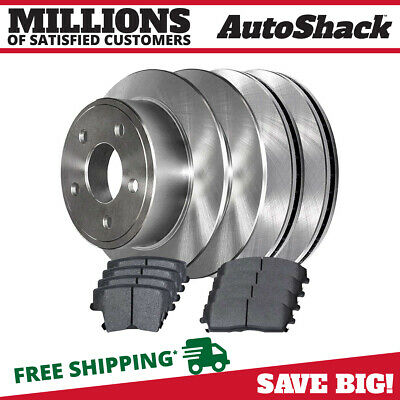 Kit Set ew Centric C-TEK Disc Brake Rotor for 2007-2012 Lexus ES350 3.5L V6