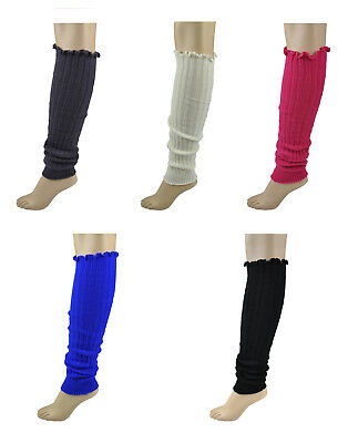 Baby Pink Knit Leg Warmers Roma Costume LW101