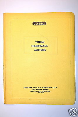 5 GENERAL TOOLS HARDWARE STORE DEALERS BINDER CATALOGS #RR600 Precision Tools