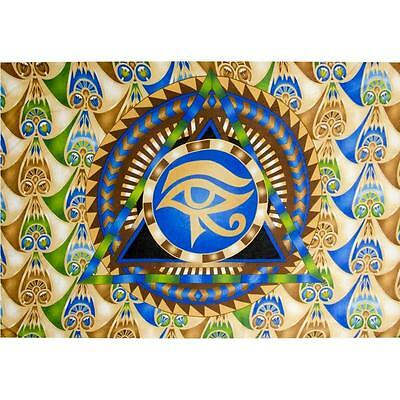 Egyptian Eye of Horus Rayon Sarong!