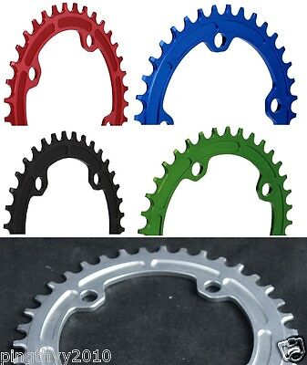 J&L Narrow Wide Chain Ring-104MM BCD-fit Sram X-Sync,Shimano,FSA,RACEFACE,Rotor