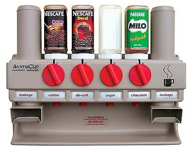 Coffee Tea & Sugar Store and Dispense for the Office & Warehouse AC600T
