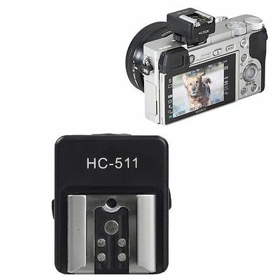 Camera Hot Shoe Adapter For Sony A7R A7II A7S A6000 A58 A99 DSLR to Canon Flash