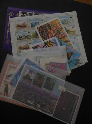 AZERBAIJAN : Beautiful collection of all diff. sets & S/S 1992-2003. Sc Cat $126