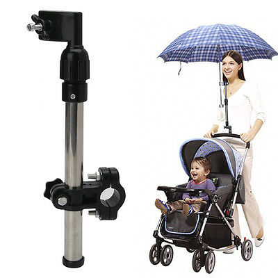 New Useful Baby Carriage Buggy Pram Stroller Umbrella Holder Mount Stand Handle