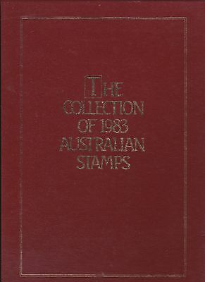 THE COLLECTION OF 1983 AUSTRALIAN STAMPS - NEW as issued by AP