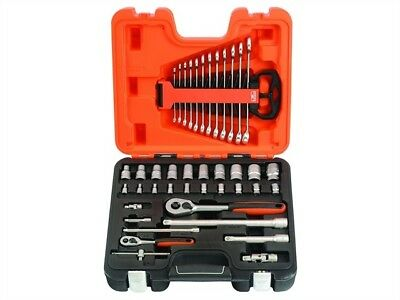 Bahco S410 Socket And Spanner Set 41 Piece 1/4in & 1/2in Drive