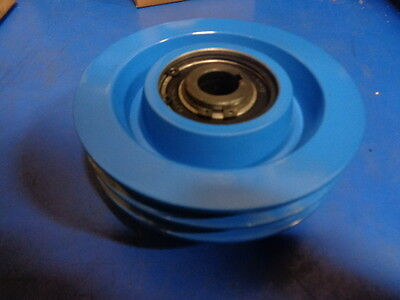 Centrifugal Clutch For Compactor Plate Compactor Double Groove 3/4 Bore Hd