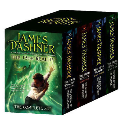 The 13th Reality:The Complete 4 Books Collection Box Set By James Dashner New UK