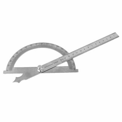 Carpenter Architect Round Head Rotary Protractor Angle Ruler Tool