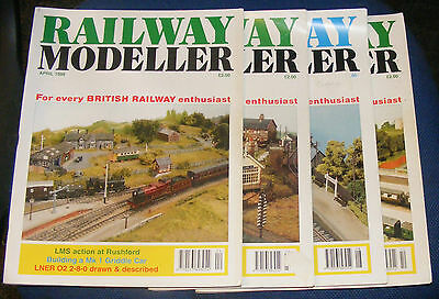 Railway Modeller Magazines Various Issues 1998