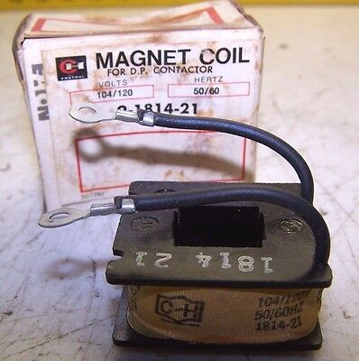 New Cutler Hammer 9-1814-21 Coil 120 Vac For D.p. Contactor 104/120V 50/60Hz