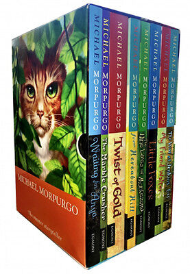 Michael Morpurgo 8 Books Collection Box Set Little Foxes, Twist of Gold Series 2