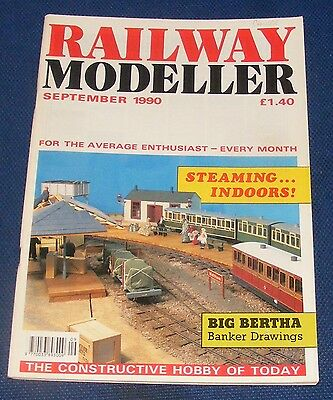 Railway Modeller Magazines Various Issues 1990