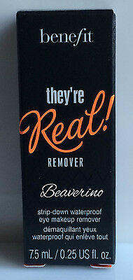Benefit They're Real Remover Waterproof Eye Makeup Remover 7.5ml Sample Size NEW