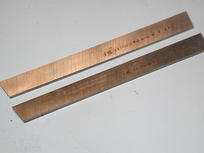 "2 NOS VULCAN MADE in Germany Lathe Cut-Off Blades Da2 3/8"" X 5/64"" x 3.9"" (99mm)"