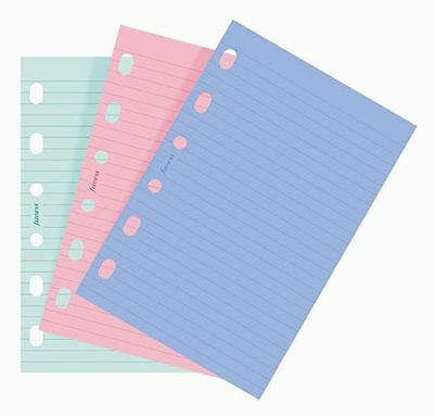 Filofax Pkt Ruled Fashion Colored Paper