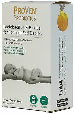 Proven Probiotics Baby Probiotic For Formula Fed Babies 30 Days Supply