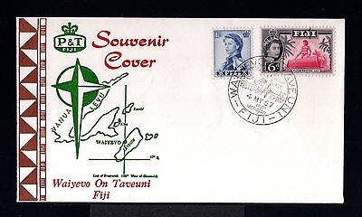 10751-Fiji Islands-First Day Cover Waiyevo.1967.british.