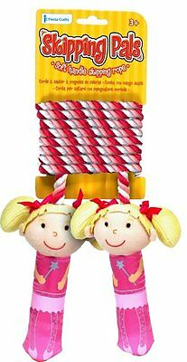 Fairy Skipping Pals - Skip Rope with Soft, Fairy Shaped Handles Fiesta Crafts