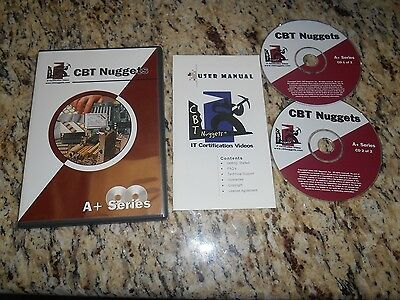 CBT Nuggets A+ Series 2 CD Set IT Certification Video 2001